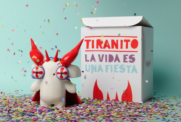 Tiranito / La vida es una fiesta / Life's a party by Camila De Gregorio, via Behance