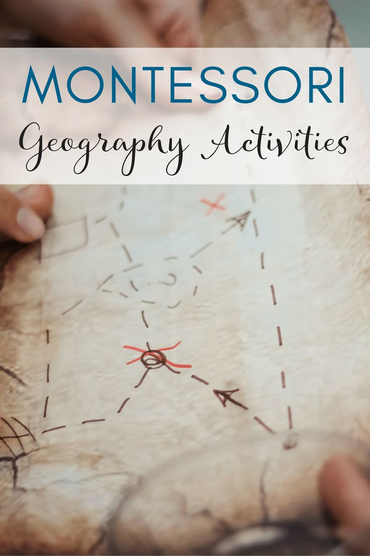 Montessori Geography for Preschoolers - Lessons, Materials, Activities, and Resources