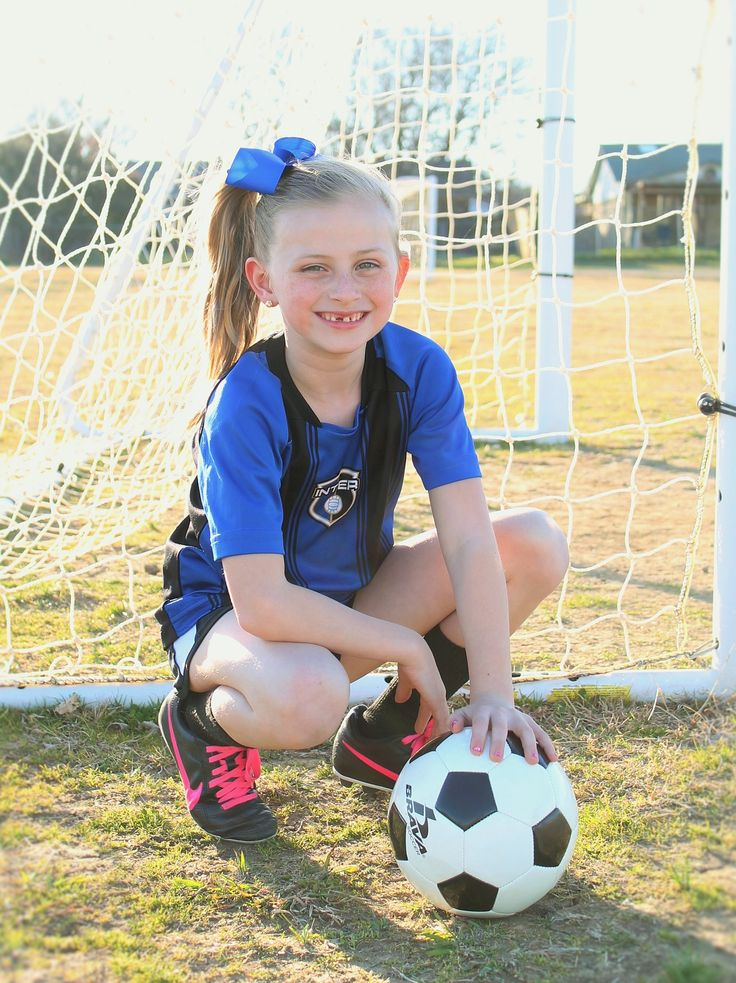 Youth Individual Soccer Poses for Photography