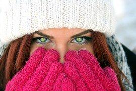 Dívka, Zelené Oči, Zrzavé Vlasy, Krása