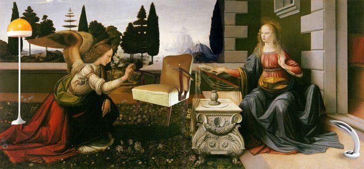 #Leonardo #chachi #anunciación #chachiandchachi #furniture #lampvintage #vintage #deco #art