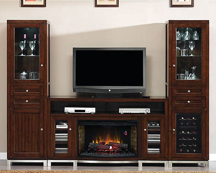 Best 25+ Entertainment center with fireplace ideas on