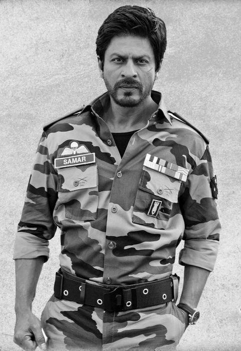 Shahrukh Khan as Samar Anand in Jab Tak Hai Jaan