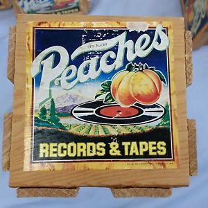 My favorite record and 8-track store. I used to go to the one on Masonic and Grosbeck in Fraser, Michigan every Sunday night after work in 1978. Found one of these 'crates' at the Armada Flea market (MI) a few years ago.