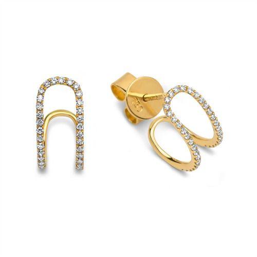 Ohrschmuck 70x Diamanten 0,20 ct gesamt 750 Gelbgold DE0052 http://www.thejewellershop.com/ #gelbgold #ohrschmuck #diamonds #diamanten #earrings #ohrstecker #schmuck #jewelry