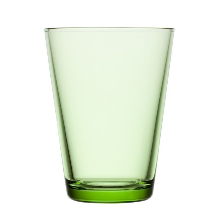 Apple Green in Kartio, fresh & crisp, with a summer feel, beautiful coloured glasses by Iittala