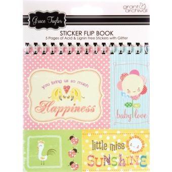 Sticker Flip Book - Baby Boy