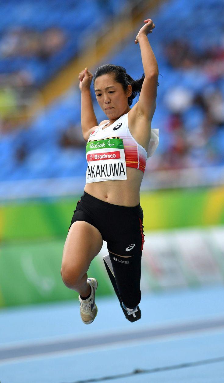 陸上女子走り幅跳び(切断など)で5位の高桑早生=井手さゆり撮影 #リオ五輪 #パラリンピック