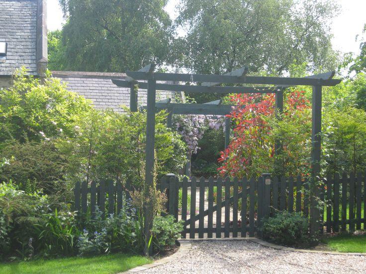 201 best gardens by goose green design images on pinterest for Garden design east lothian