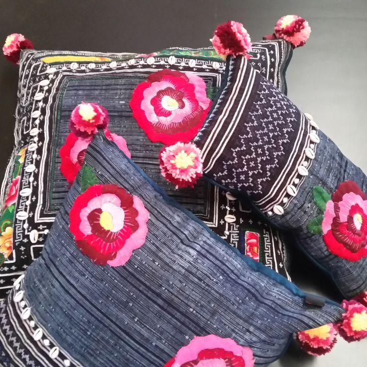 "Our new ""artisan"" cushion collection #cushion #artisan"