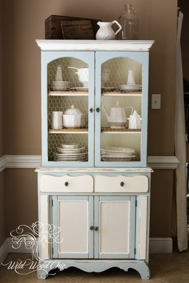 Best 17 Best Images About Chalk Painted Hutch On Pinterest 640 x 480