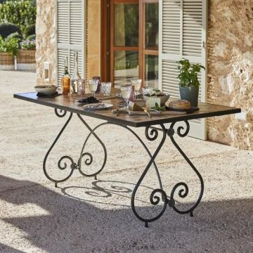 Tisch Grainville Gartentisch Gartentisch Mosaik Und