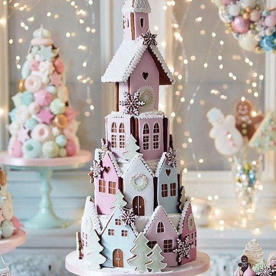 Cakes; biscuit deco; house;