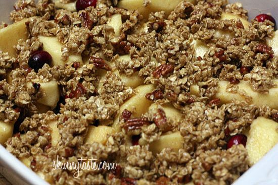 Apple Cranberry Crumble | Apples and Cranberries