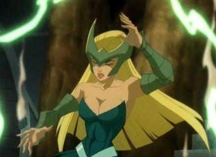Amora in Hulk vs. Thor