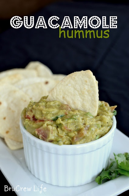Inside BruCrew Life: Guacamole Hummus with Football Chips
