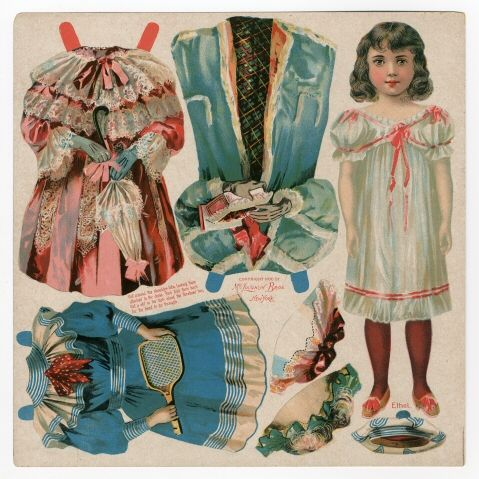 75.2203: Ethel | paper doll | Paper Dolls | Dolls | Online Collections | The Strong