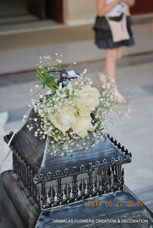 στολισμος γαμου με γυψοφυλλη