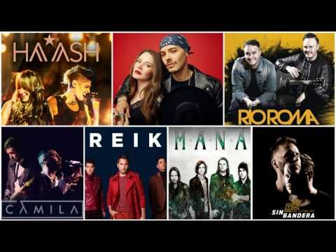 Ha Ash, Jessy Y Joy, Sin Bandera, Reik, Camila, Mana, Rio Roma MIX EXITOS Romanticos - YouTube