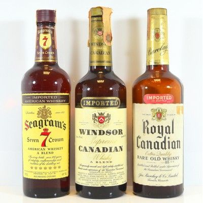 Seagrams 7, Windsor and Royal Canadian
