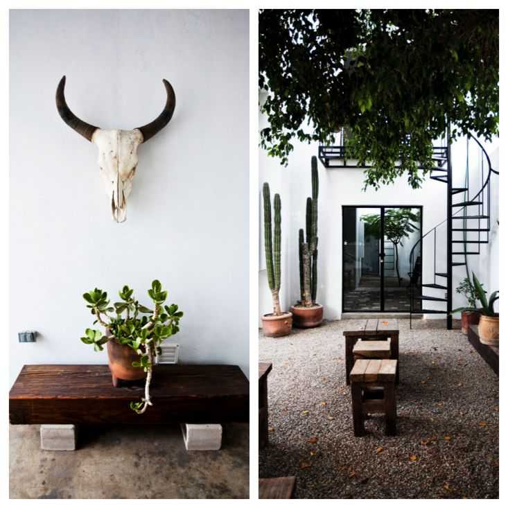 Drift San Jose hotel, an $89/night resort in Baja, Mexico, photographed by Maggie Davis and Vanessa Smith via Tiny Atlas Quarterly | Remodelista
