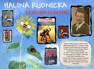 Halina Rudnicka 12.10.1909-21.04.1982