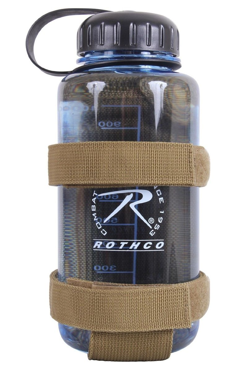 Rothco Lightweight MOLLE Bottle Carrier - Velcro-Type Water Bottle Attachment
