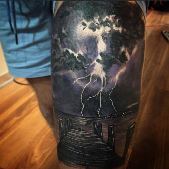 Epic thunderstorm by Dylan Weber!