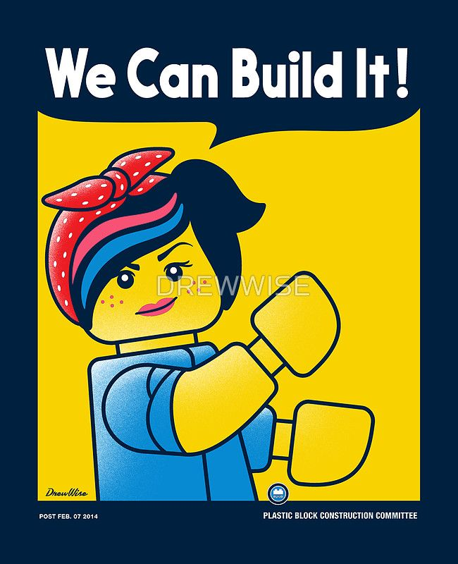 """WE CAN BUILD IT!"""