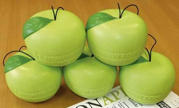 Newton Apples Pack of Five; Measures One Newton