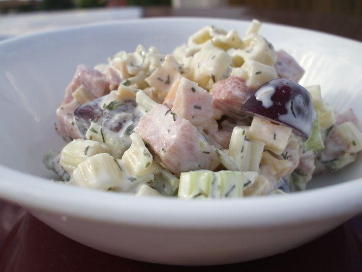 Summer Ham Pasta Salad