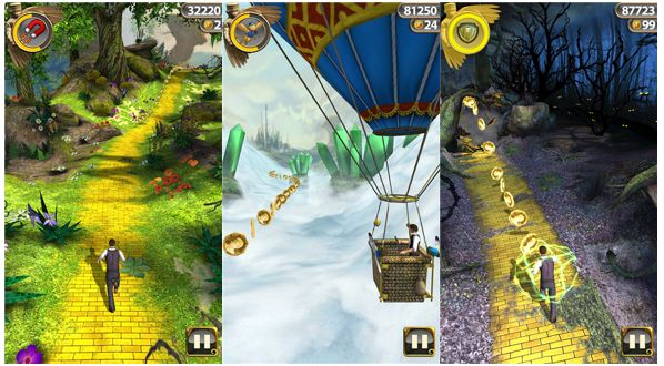 Temple Run Oz for Windows phone 8 now in Windows phone store   It's a good news for the users of Windows phone 8 devices,the users can download and install branded new game on their devices,named as Temple Run:Oz.