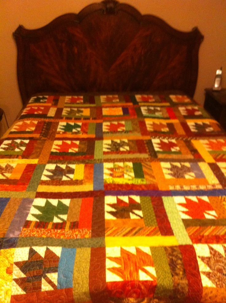 17 Best Images About Quilting Maple Leaf On Pinterest