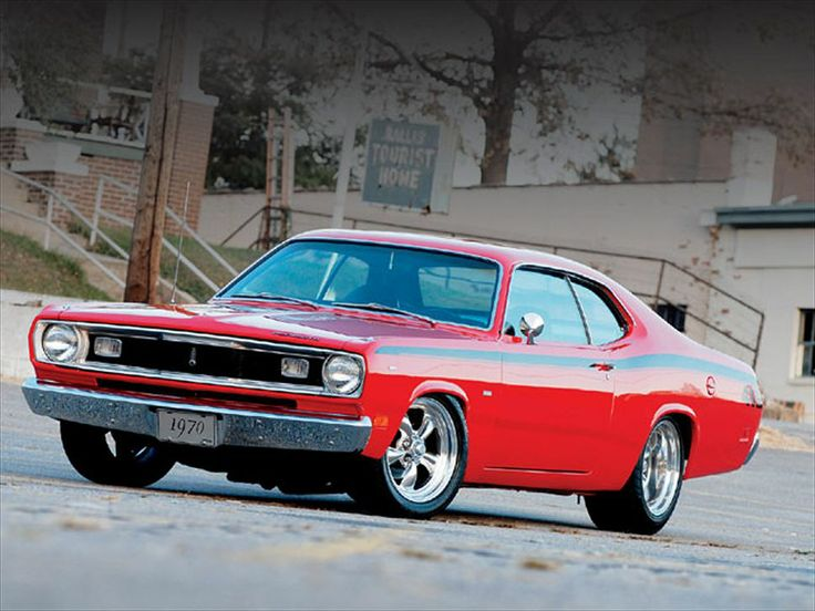 1970 Dodge Duster appreciated by Motorheads Performance www.musclecarssanantonio.com