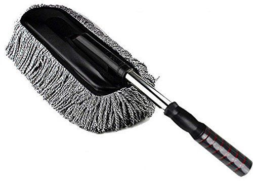 Car Cleaning Duster California Home Wax Treated Plastic Handle Brush Xmas Gift #Doesnotapply
