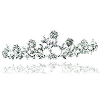 Splendid Floral Crystal Vintage Bridal Wedding Tiara with PreciousBags Dust Bag PreciousYou http://www.amazon.co.uk/dp/B0078Q2XBS/ref=cm_sw_r_pi_dp_-q61ub0J39FJ6