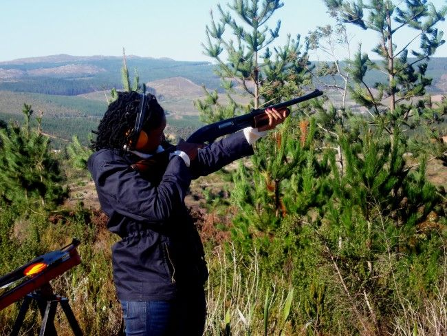 Tri Active Events Management - Clay Pigeon Shooting in Cape Town, South Africa