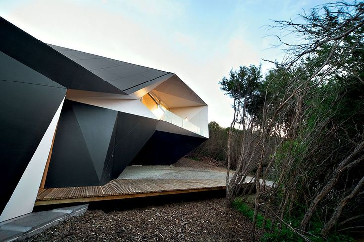 Klein Bottle House by McBride Charles Ryan - CAANdesign   Architecture and home design blog