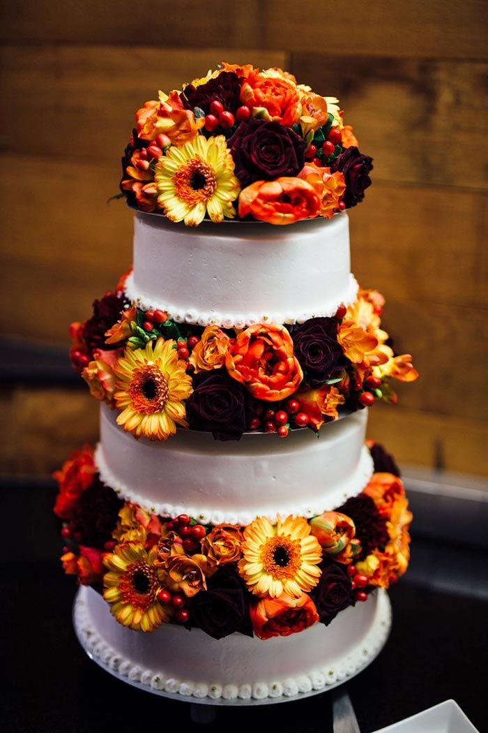 Hochzeitstorte Fur Eine Hochzeit Im Herbst Cakes Cake Wedding