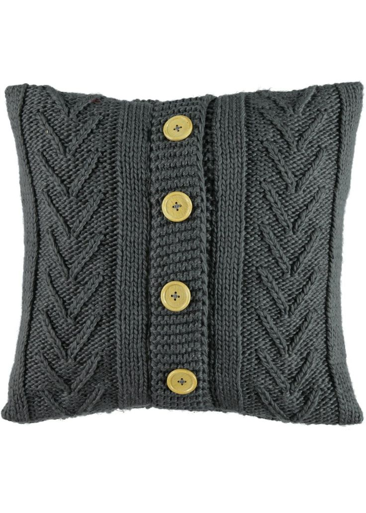 Cable Knit Cushion 48cm x 48cm - Matalan                                                                                                                                                                                 More