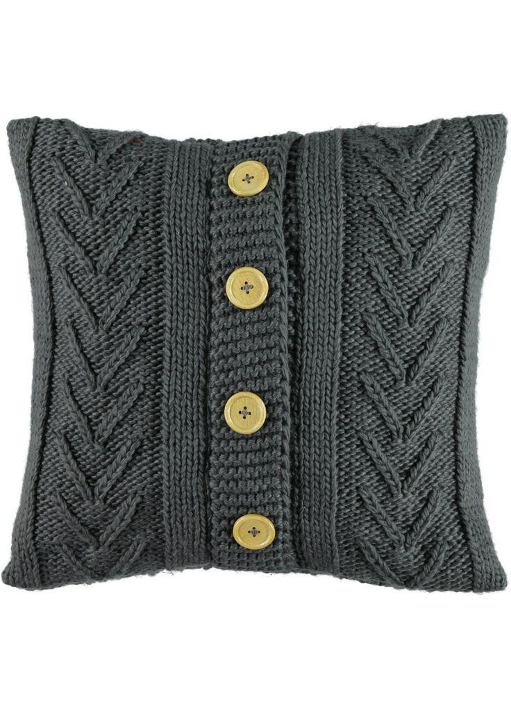 Cable Knit Cushion 48cm x 48cm - Matalan                                                                                                                                                                                 More