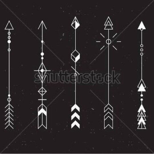Best 25 geometric arrow ideas on pinterest geometric for Minimalist tattoo artist austin