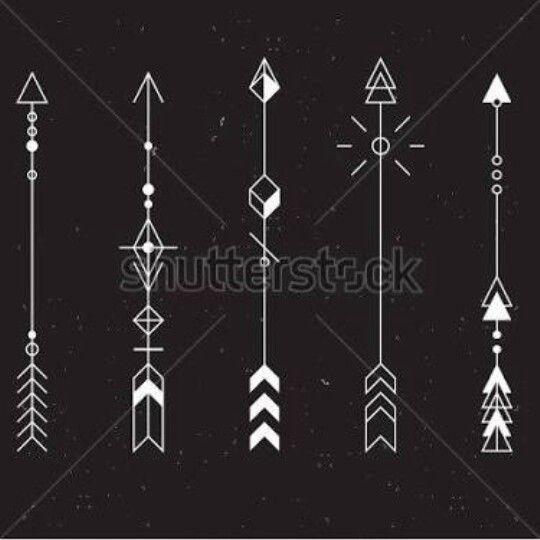 Best 25 geometric arrow ideas on pinterest geometric for Minimalist tattoo artist austin