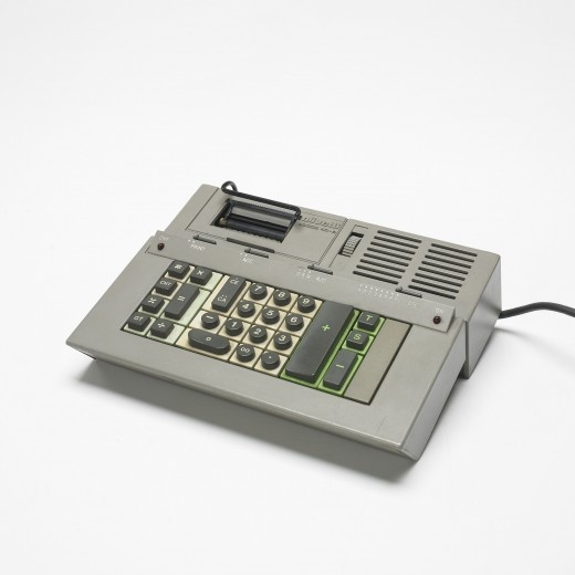 Olivetti Logos 40 Printing Electronic calculator designed by Ettore Sottsass. Manufactured in 1977.