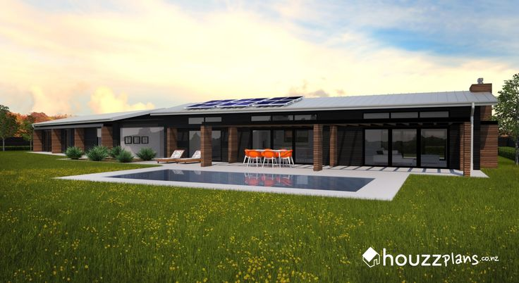 Camith - Modern Contemporary House Plan .... Browse all house plans here: www.houzzplans.co.nz