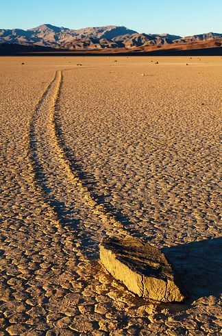 Sailing Stones in Death Valley. Part of 30 Natural Phenomena You Won't Believe Actually Exist Buzzfeed