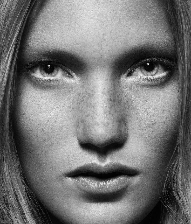 Gyslain YARHI http://www.gyslainyarhi.com   #beauty #nude #skin #woman #freckles