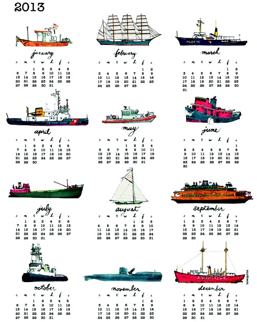 tea towel calendars