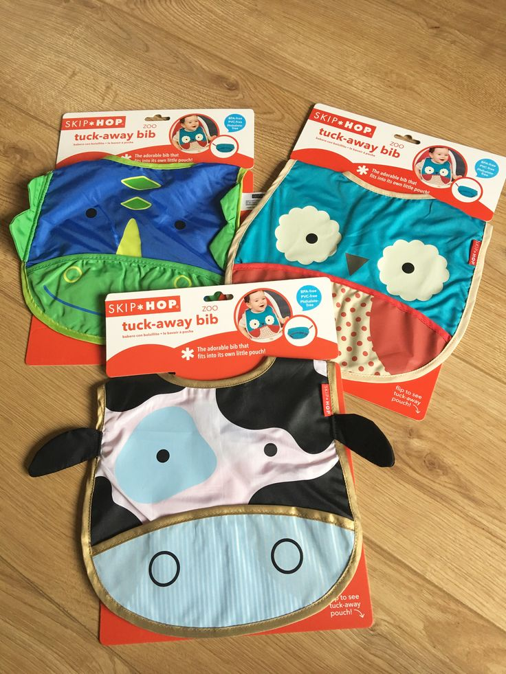Love Skip Hop products and especially their Zoo bibs.