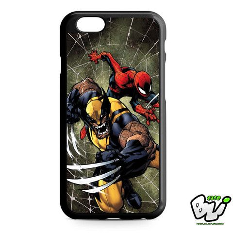 Wolverine And Spiderman iPhone 6 Case | iPhone 6S Case